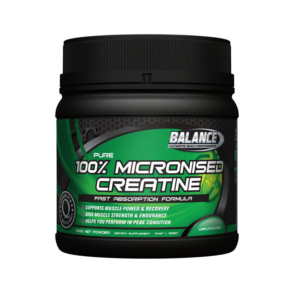 Balance Micronised Creatine 500g