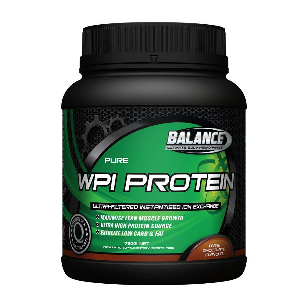 Balance Pure WPI Whey Protein Ion Exchange Chocolate 750g