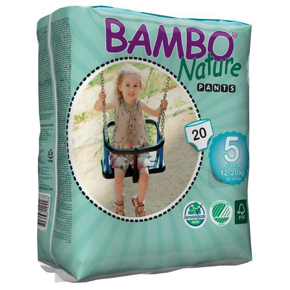 Bambo Nature Eco Disposable Training Pants - 12-20kg