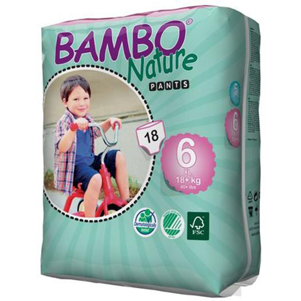 Bambo Nature Eco Disposable Training Pants 18kg+
