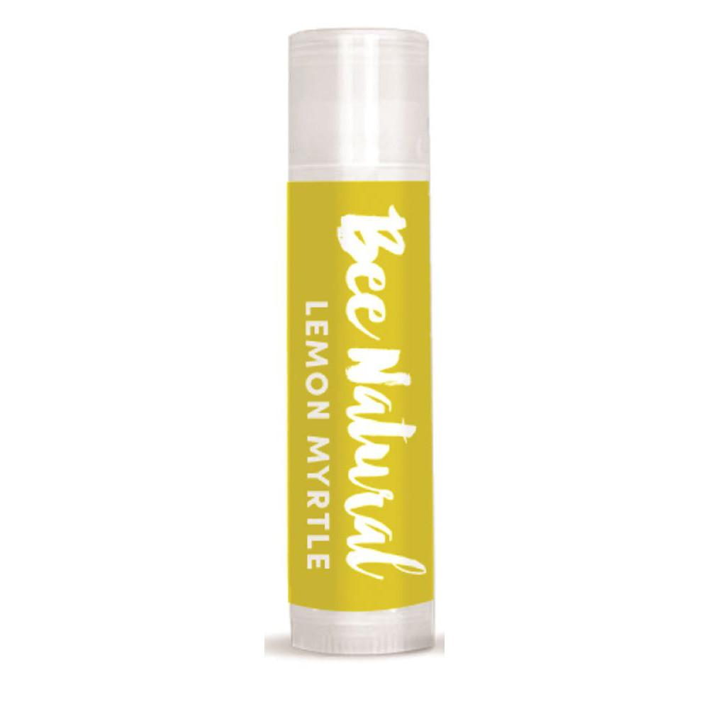Bee Natural Lip Balm Lemon Myrtle Stick 5g