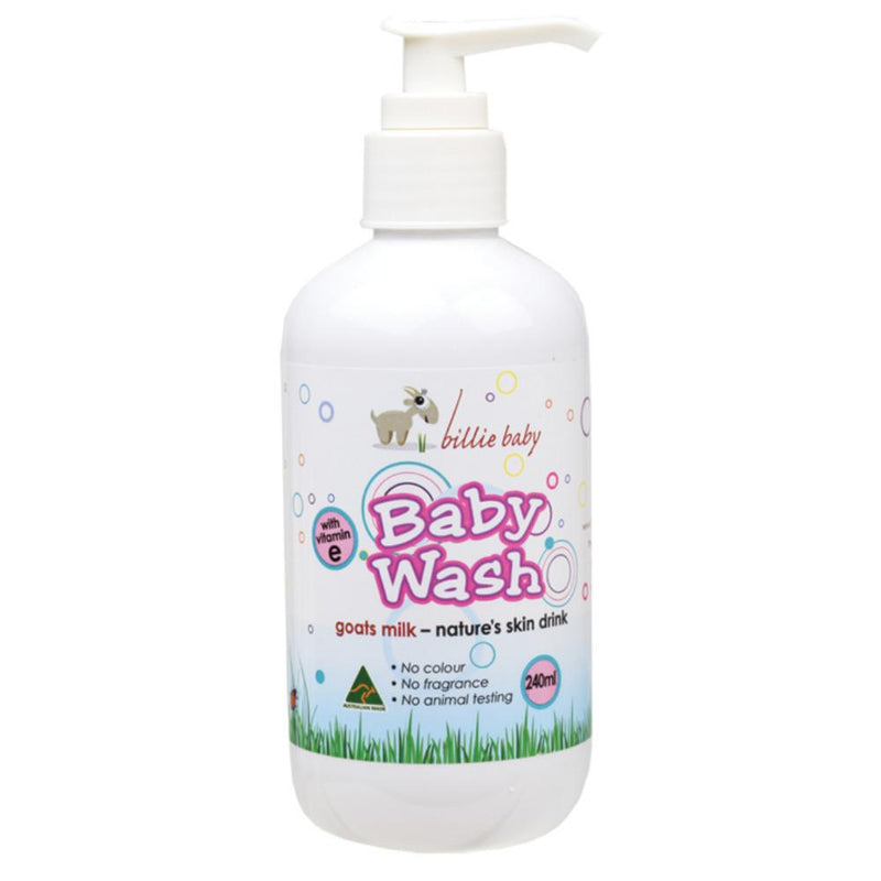 Billie Baby Baby Body Wash 240ml