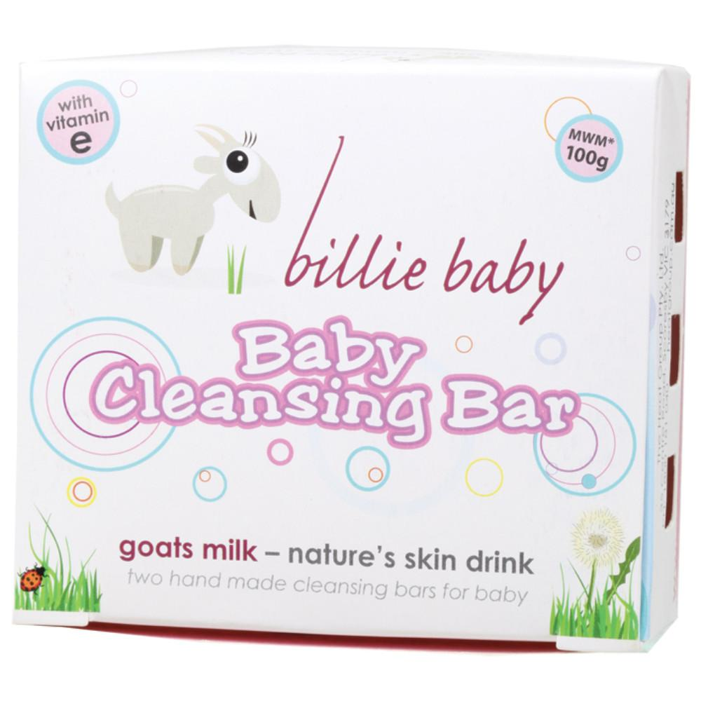 Billie Baby Baby Soap 2x50g Cleansing Bar (2 per box)