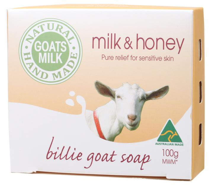 Billie Goat Soap Soap 100g Goat's Milk - Milk & Honey