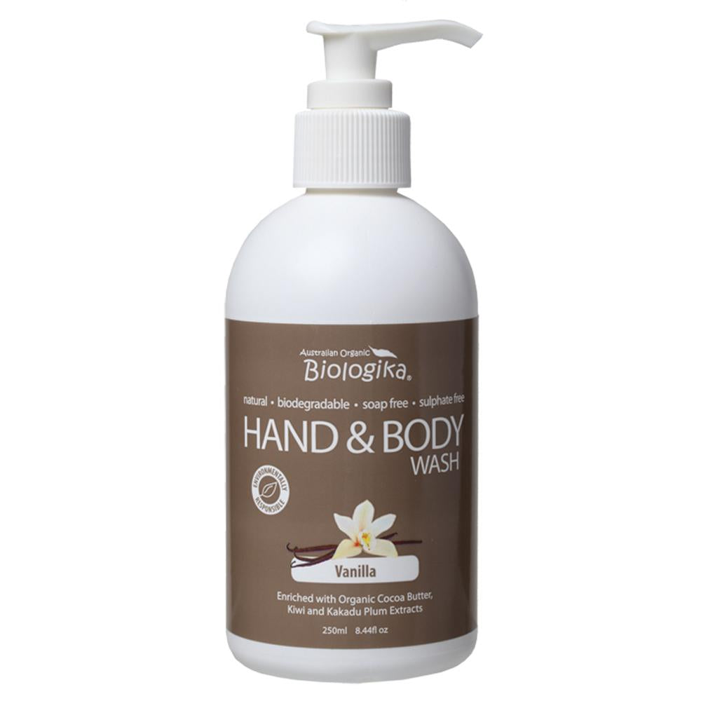 Biologika Hand and Body Wash 250ml Vanilla