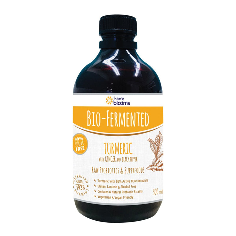 Blooms Bio Ferm Turmeric with Ginger Blk Pepper Concentrate 500ml