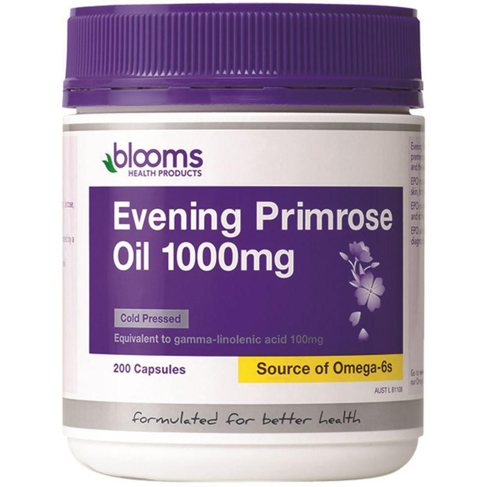 Blooms Evening Primrose Oil 1000mg 200c