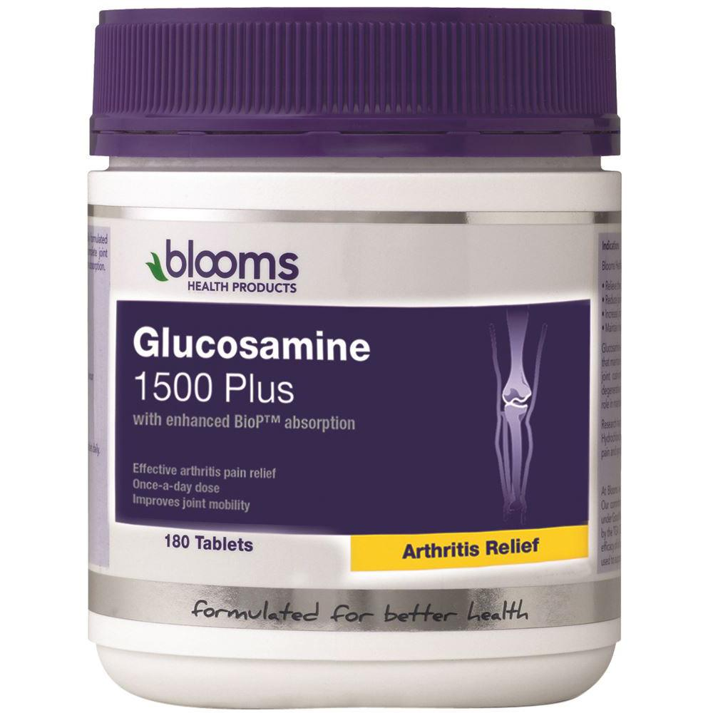 Blooms Glucosamine 1500 Plus 180t