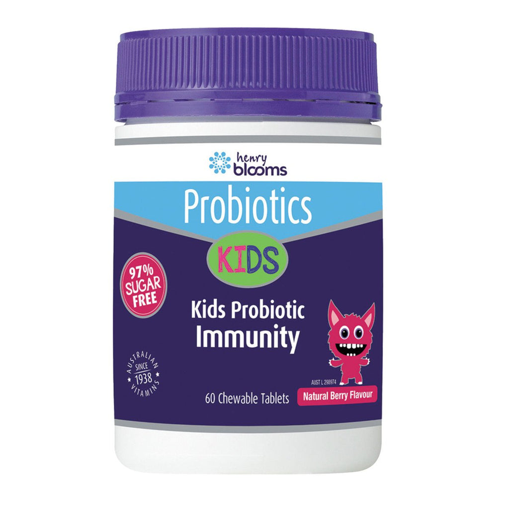 Blooms Kids Probiotic Immunity Berry Chewable 60 Tables