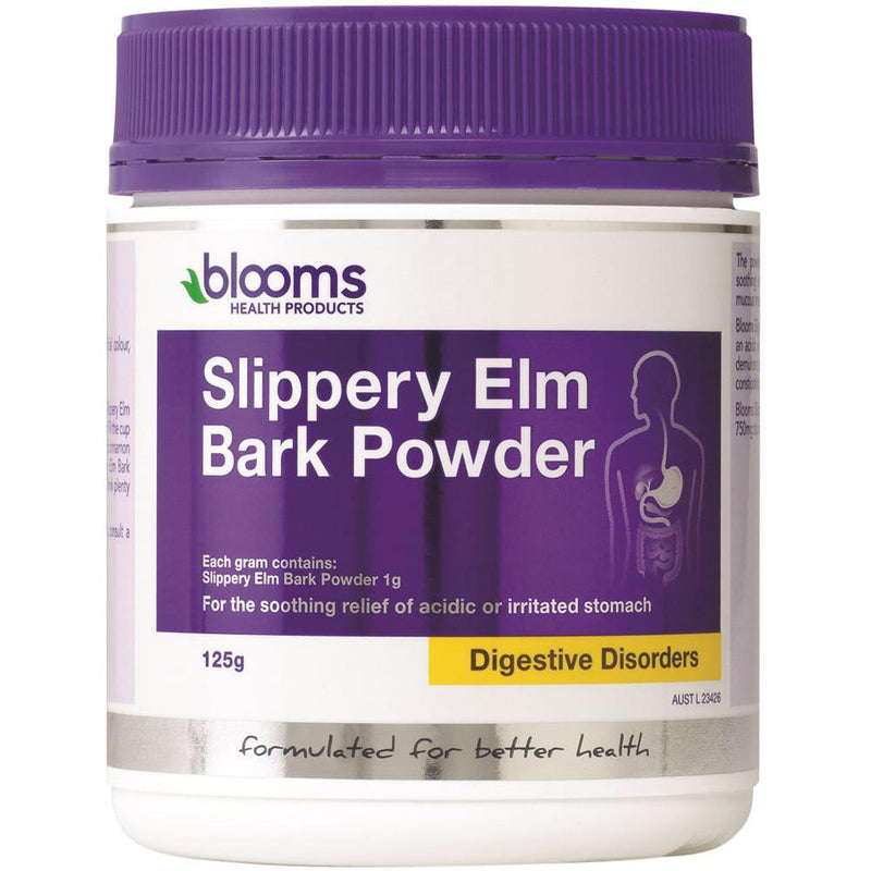 Blooms Slippery Elm Bark Powder 125g