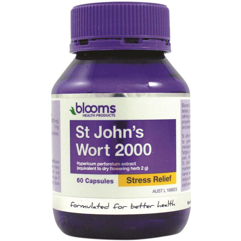 Blooms St Johns Wort 2000mg 60c