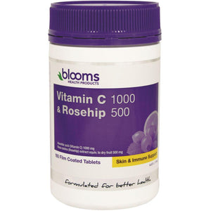 Blooms Vitamin C 1000mg & Rosehips 180t