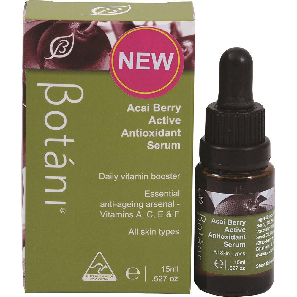 Botani Acai Berry Active Antioxidant Serum 15ml