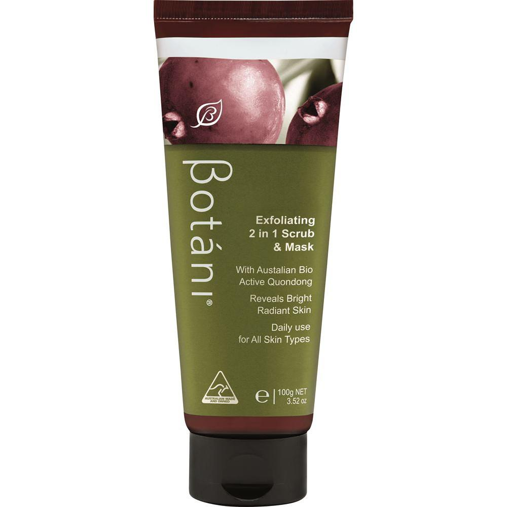Botani Exfoliating 2 in 1 Scrub and Mask 100g