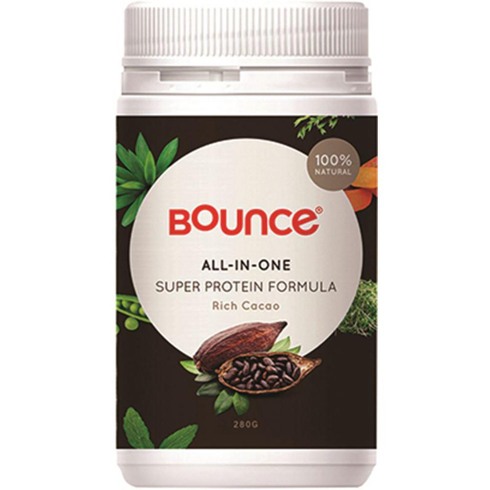 Bounce Shake All-In-One Super Protein Formula Rich Cacao 280g