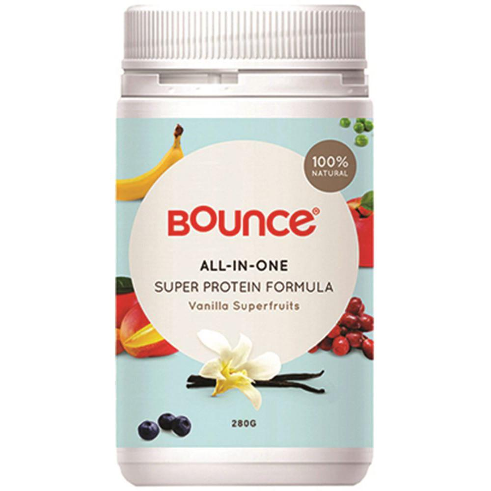 Bounce Shake All-In-One Super Protein Formula Vanilla Superfruits 280g
