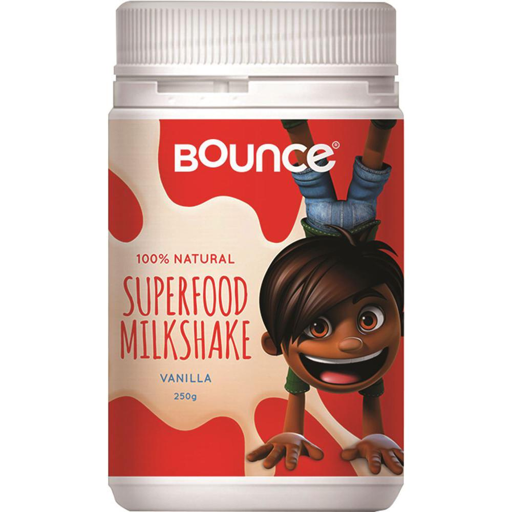 Bounce Superfood Milkshake Vanilla 250g