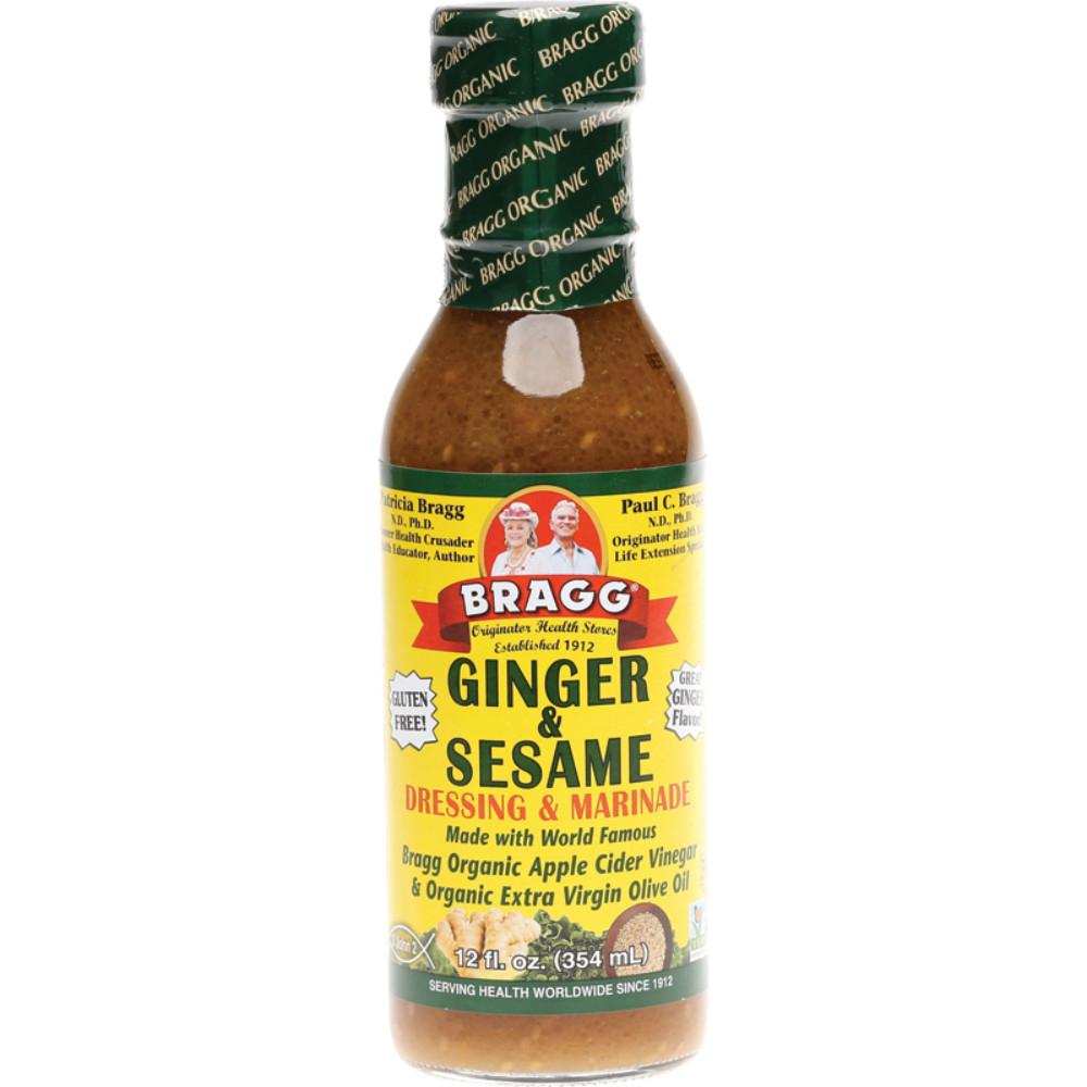 Bragg Salad Dressing 354ml Ginger & Sesame