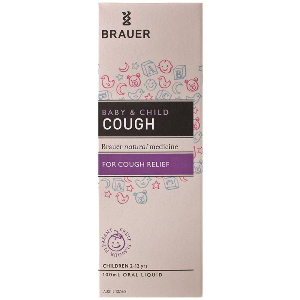 Brauer Baby & Child Cough For Cough Relief 100ml