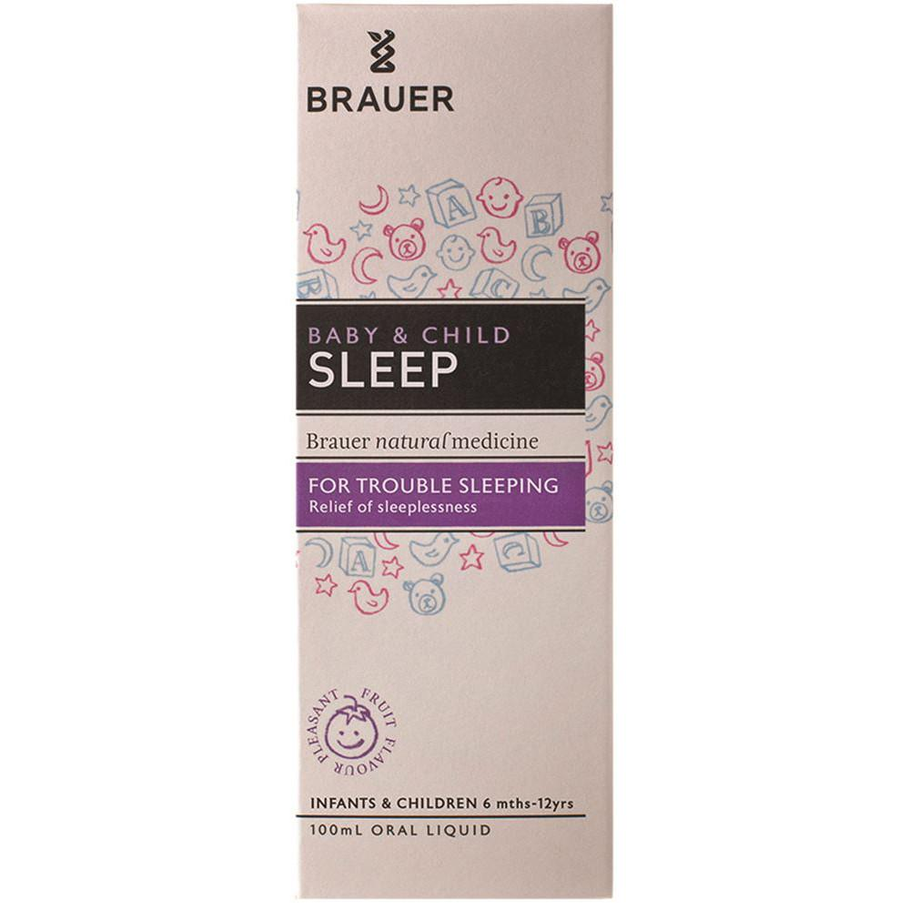 Brauer Baby & Child Sleep For Trouble Sleeping 100ml
