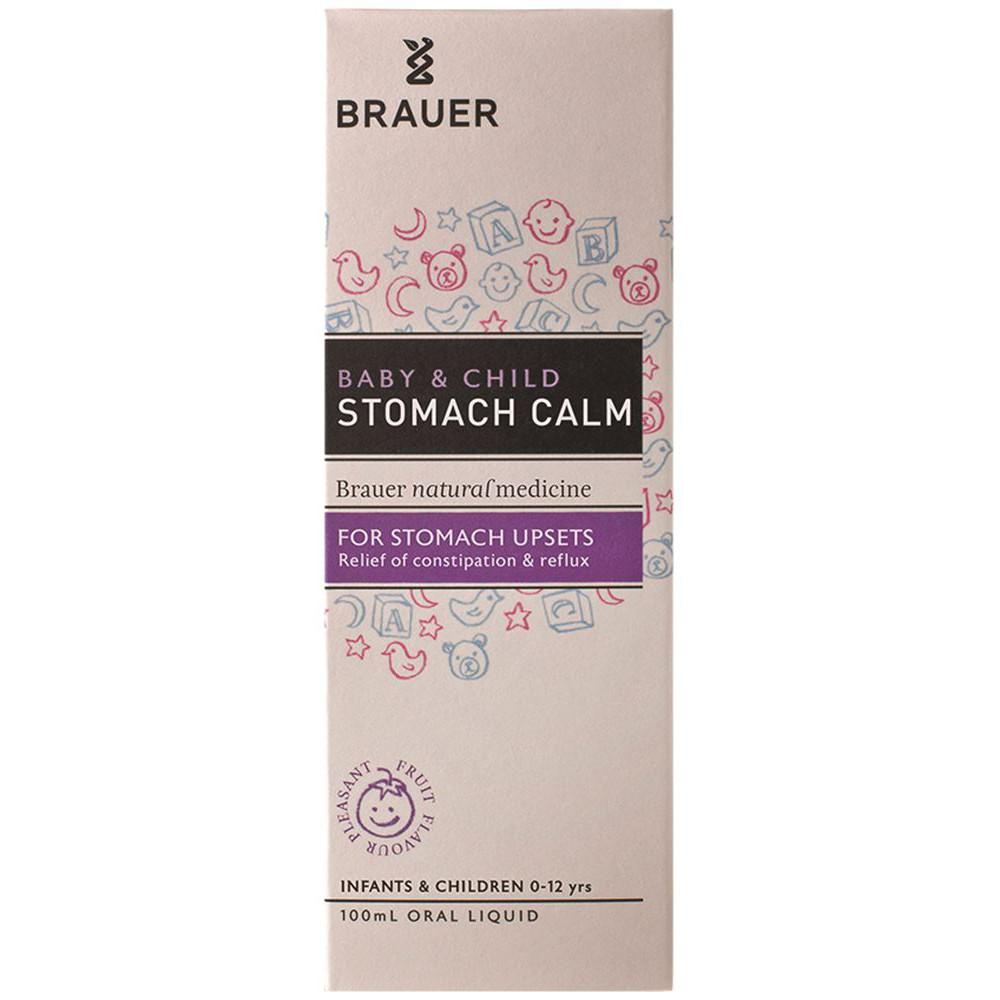Brauer Baby & Child Stomach Calm For Stomach Upsets 100ml