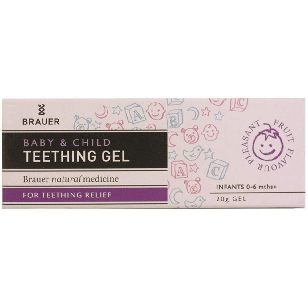 Brauer Baby & Child Teething Gel For Teething Relief 20g