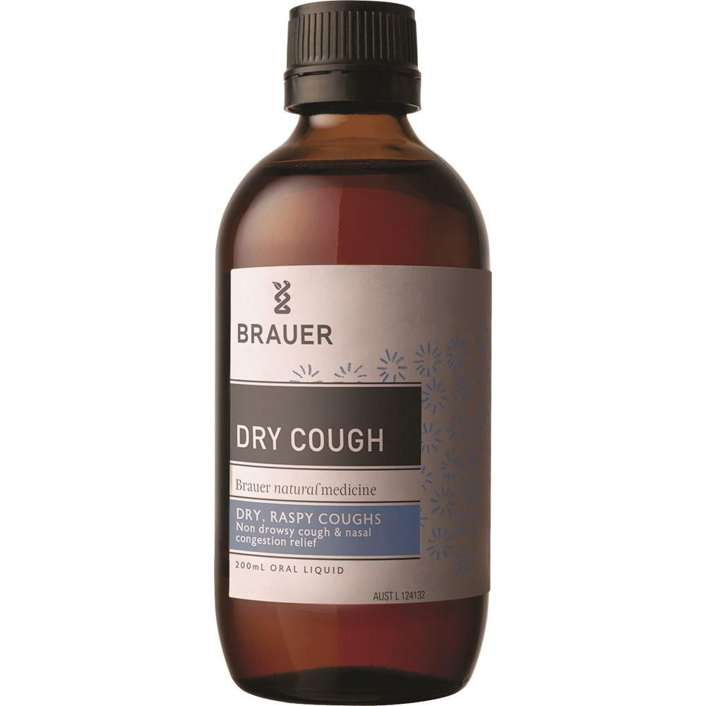 Brauer Dry Raspy Cough 200ml