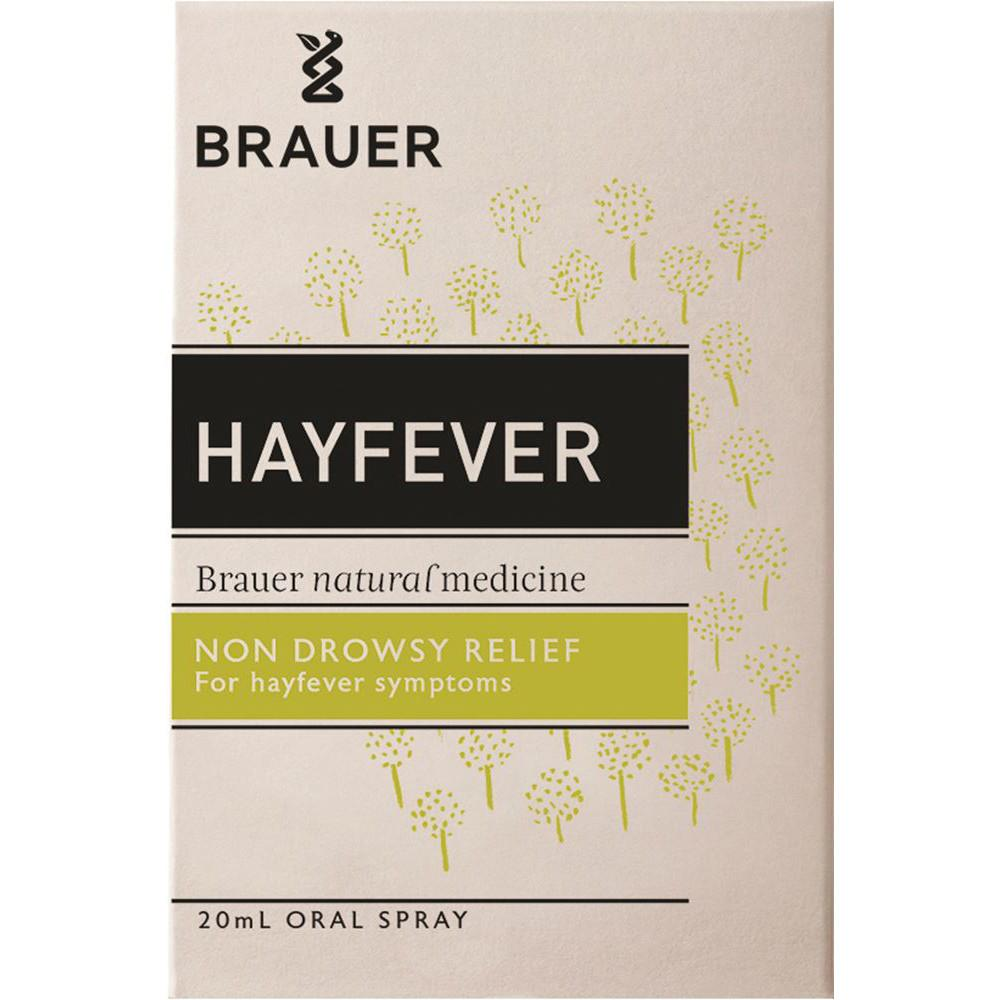 Brauer Hayfever Non Drowsy Oral Spray 20ml