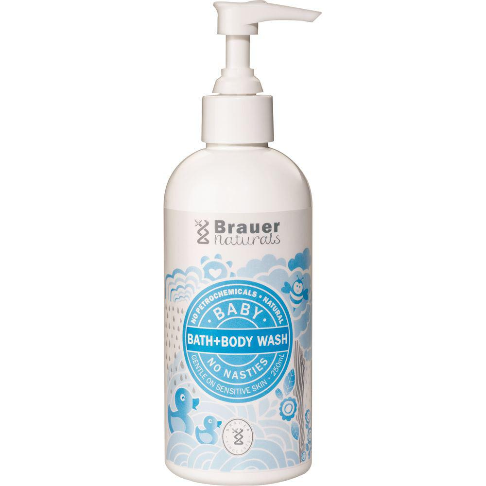 Brauer Naturals Baby Bath & Body Wash 250ml