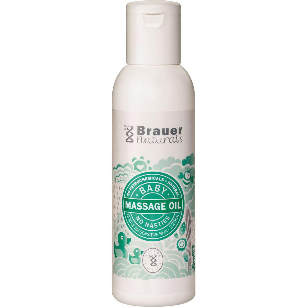 Brauer Naturals Baby Massage Oil 125ml