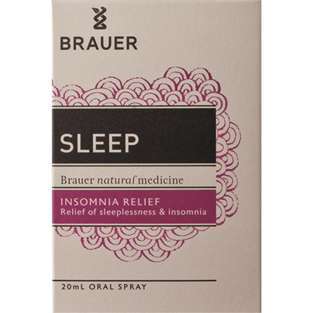 Brauer Sleep Insomnia and Relief Oral Spray 20ml