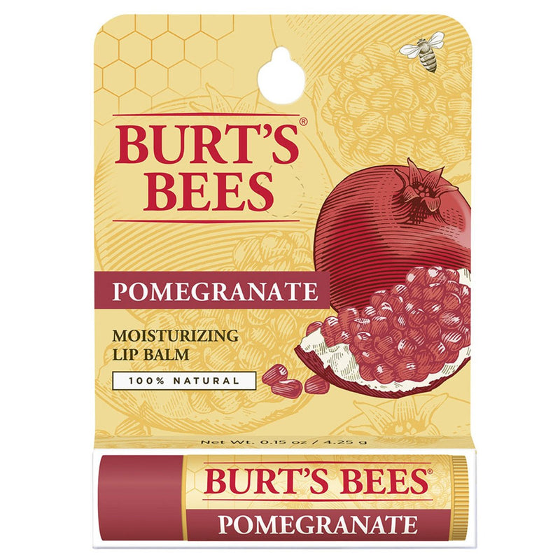 Burt's Bees Lip Balm Pomegranate Replenishing Tube 4.25g