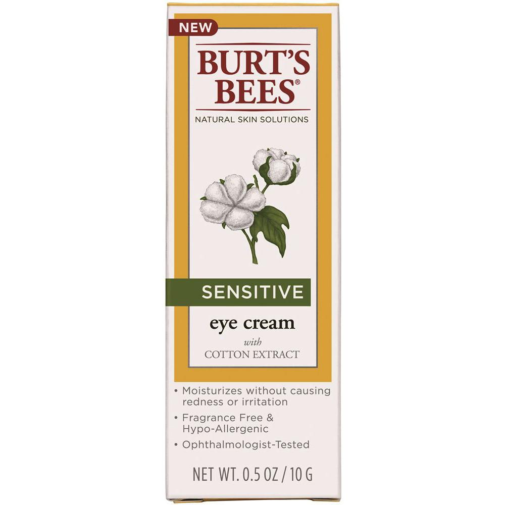 Burt's Bees Sensitive Eye Cream with Cotton Extract 10g