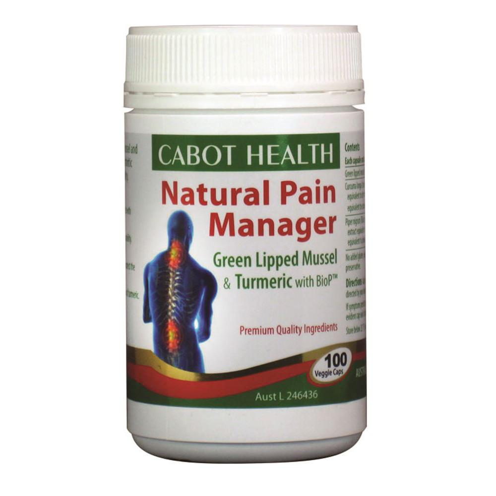 Cabot Health Natural Pain Manager 100c
