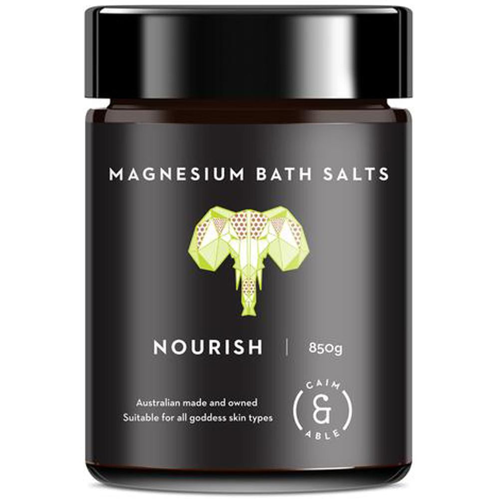 Caim & Able Nourish Magnesium Bath Salts Coconut & Lime