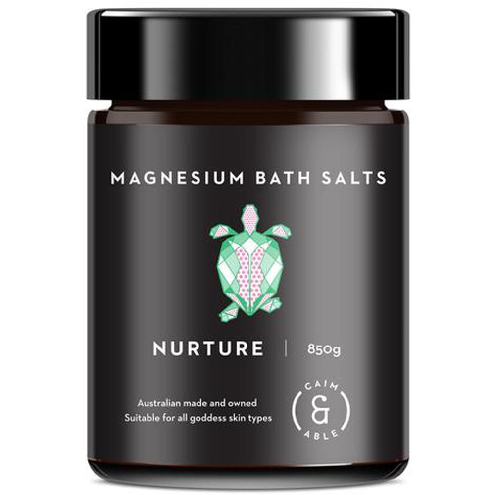 Caim & Able Nurture Magnesium Bath Salts Rose & Frankincense