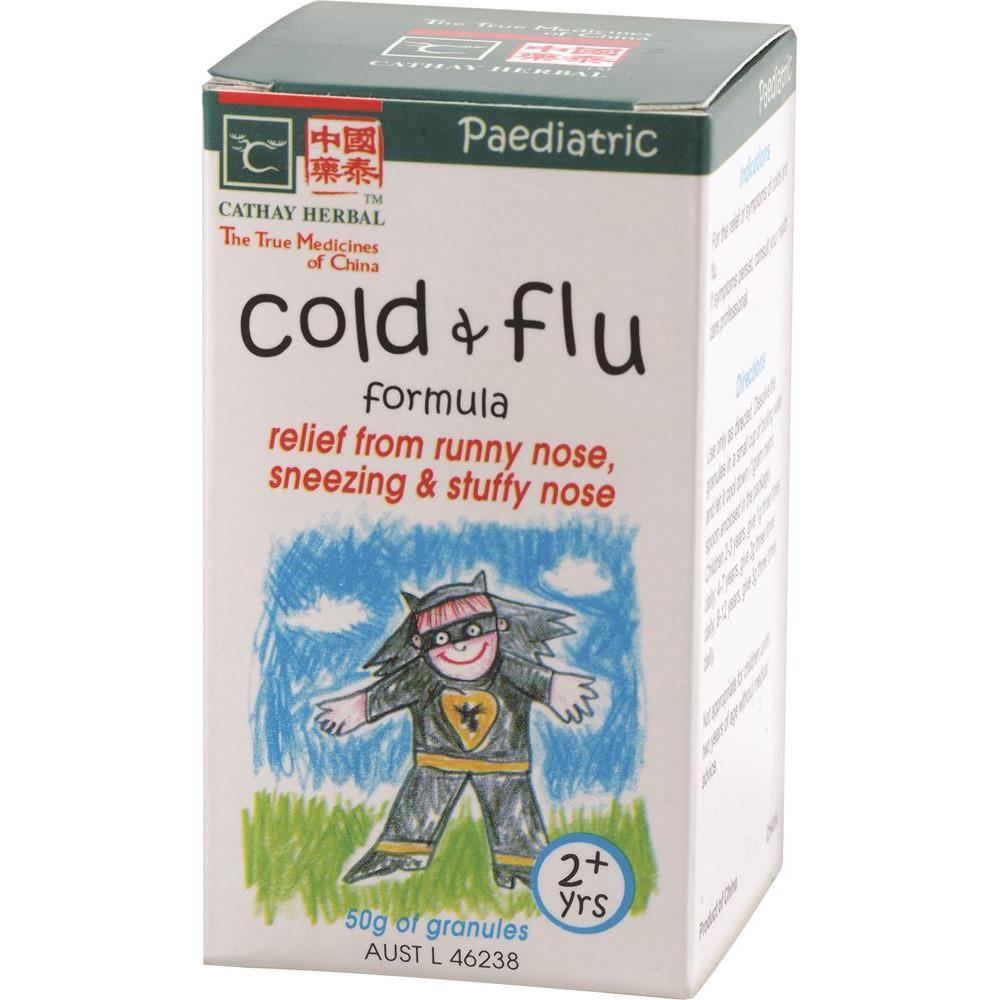 Cathay Herbal Paediatric Cold & Flu Formula 50g