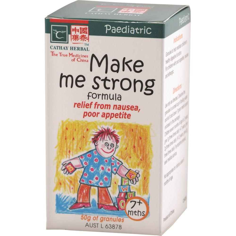 Cathay Herbal Paediatric Make Me Strong Formula 50g