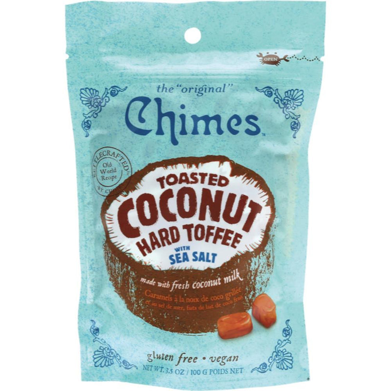 Chimes Hard Candy 100g Toasted Coconut Toffee