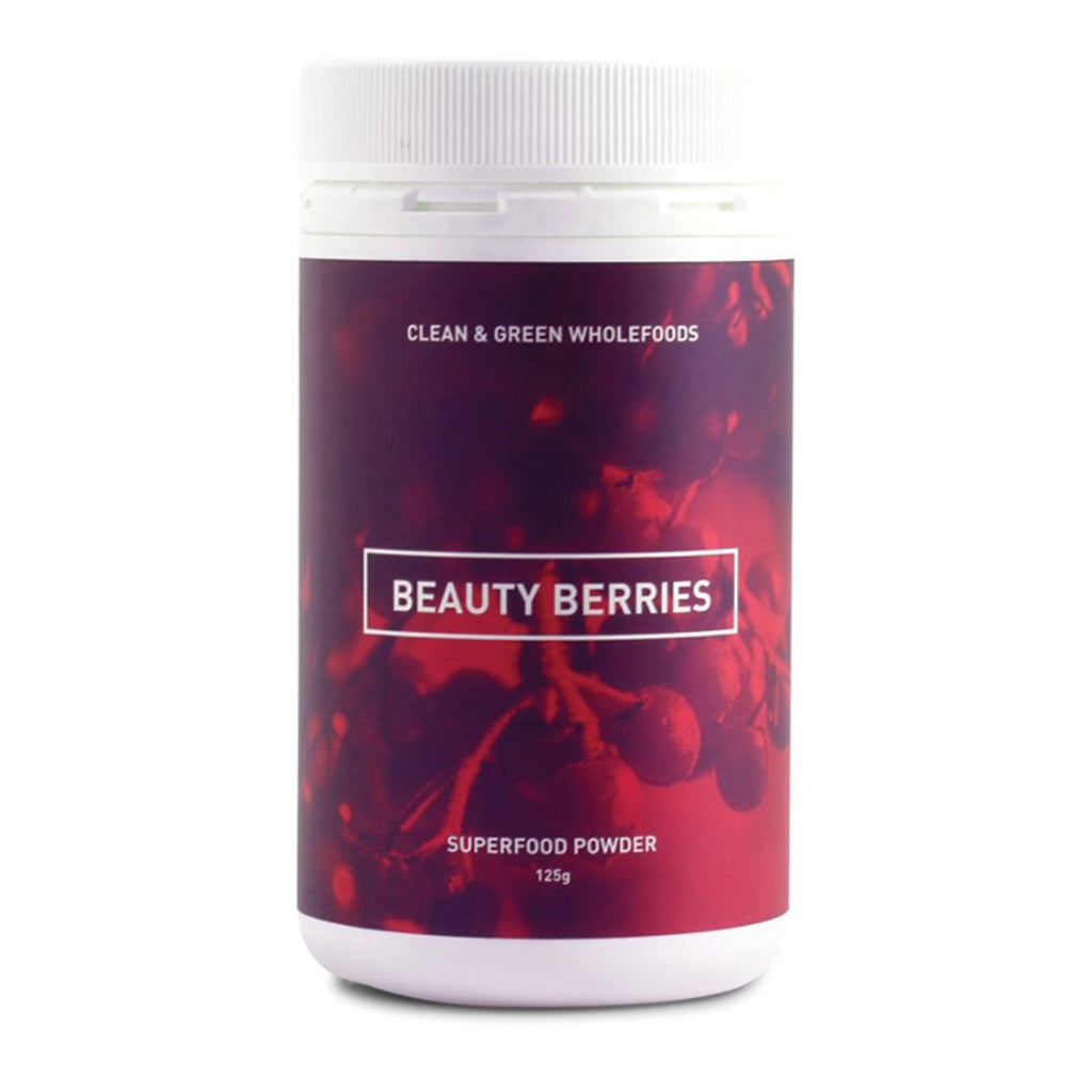 Clean and Green Wholefoods Beauty Berries 125g