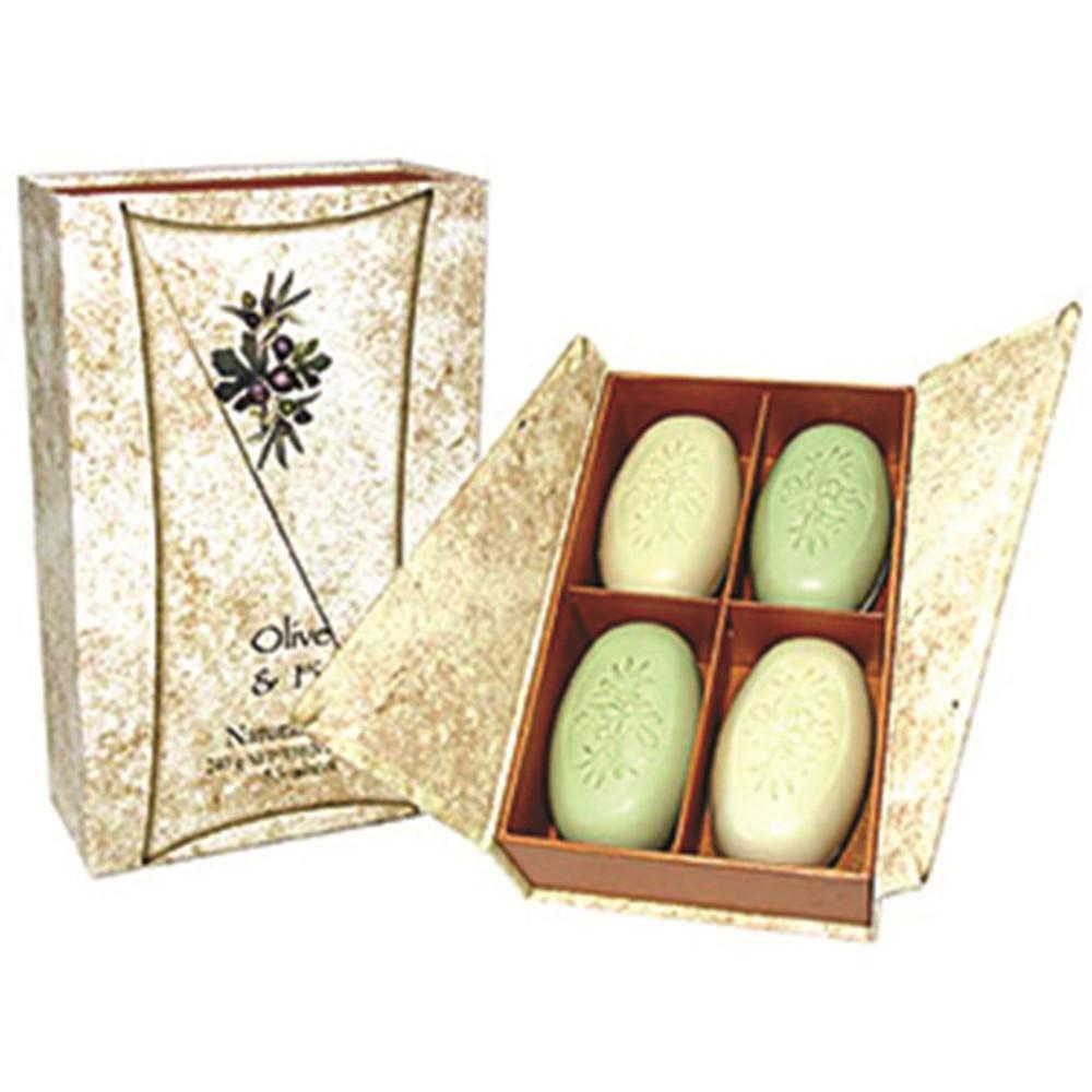 Clover Fields Olive & Fig Boxed Soap 4 Pack