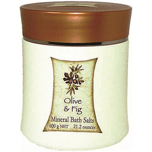 Clover Fields Olive & Fig Mineral Bath Salts 600g
