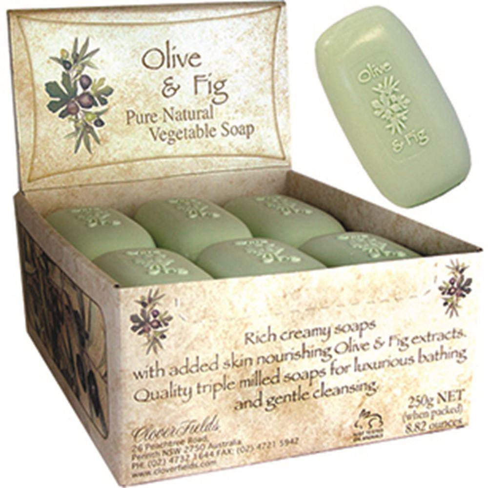 Clover Fields Olive & Fig Soap 250g