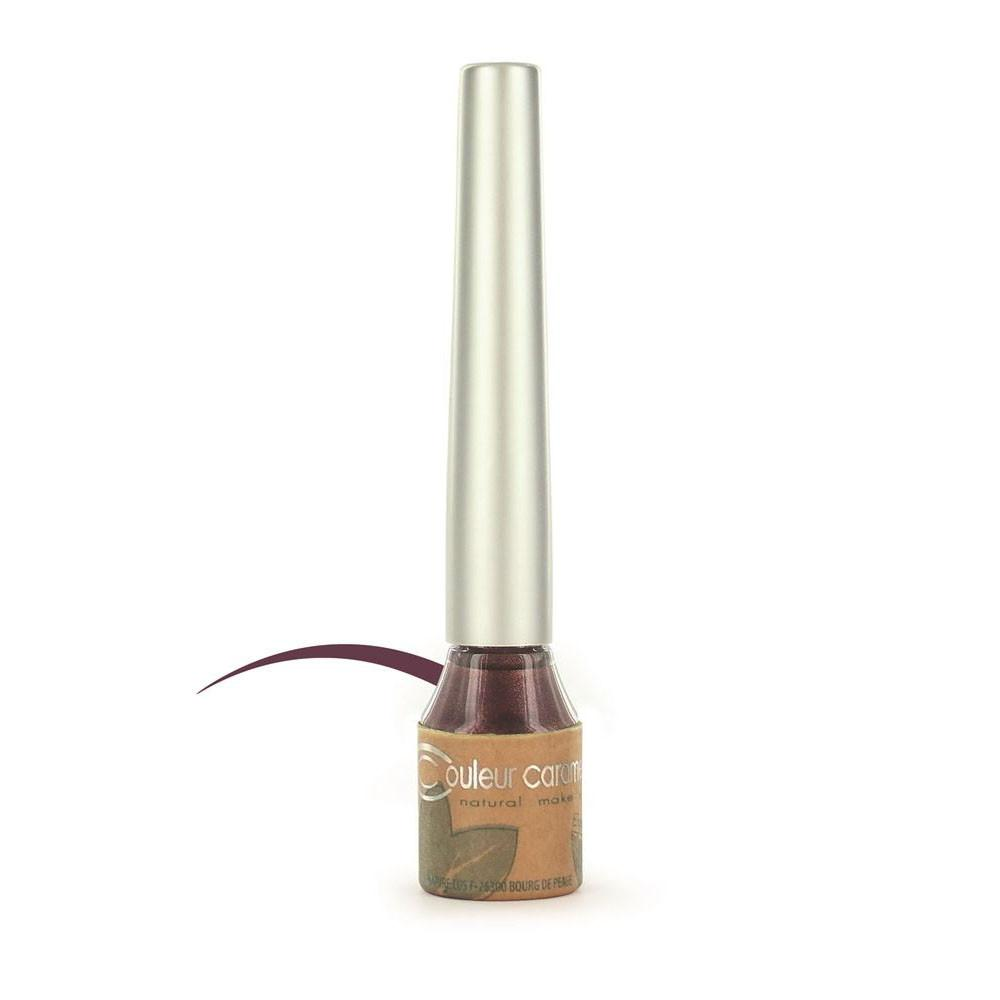 Couleur Caramel Eye Liner Liquid Plum (02)