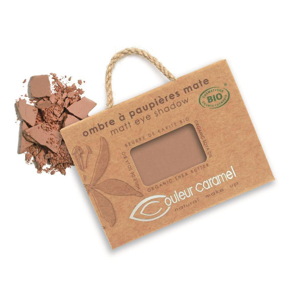 Couleur Caramel Eye Shadow Matt Cocoa (80)