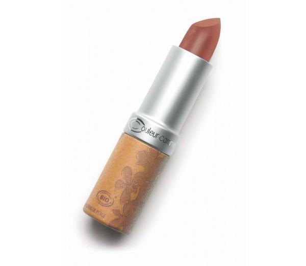 Couleur Caramel Lipstick Glossy Chocolate Brown Pearly (211)