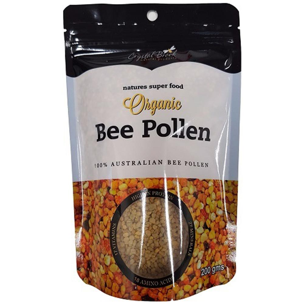Crystal Brook Organic Bee Pollen 200g