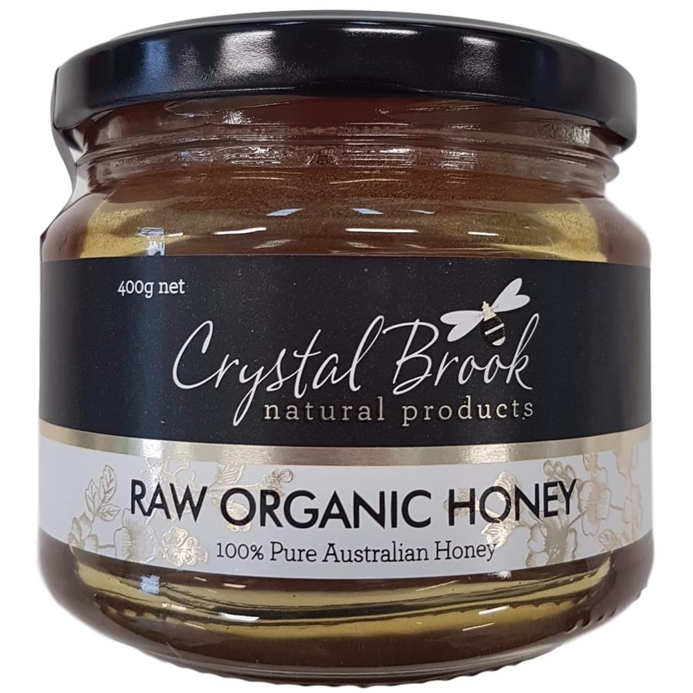 Crystal Brook Organic Raw Honey 400g