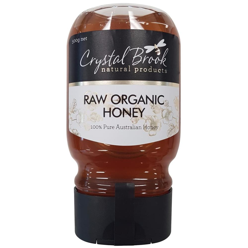Crystal Brook Organic Raw Honey Squeezy 500g