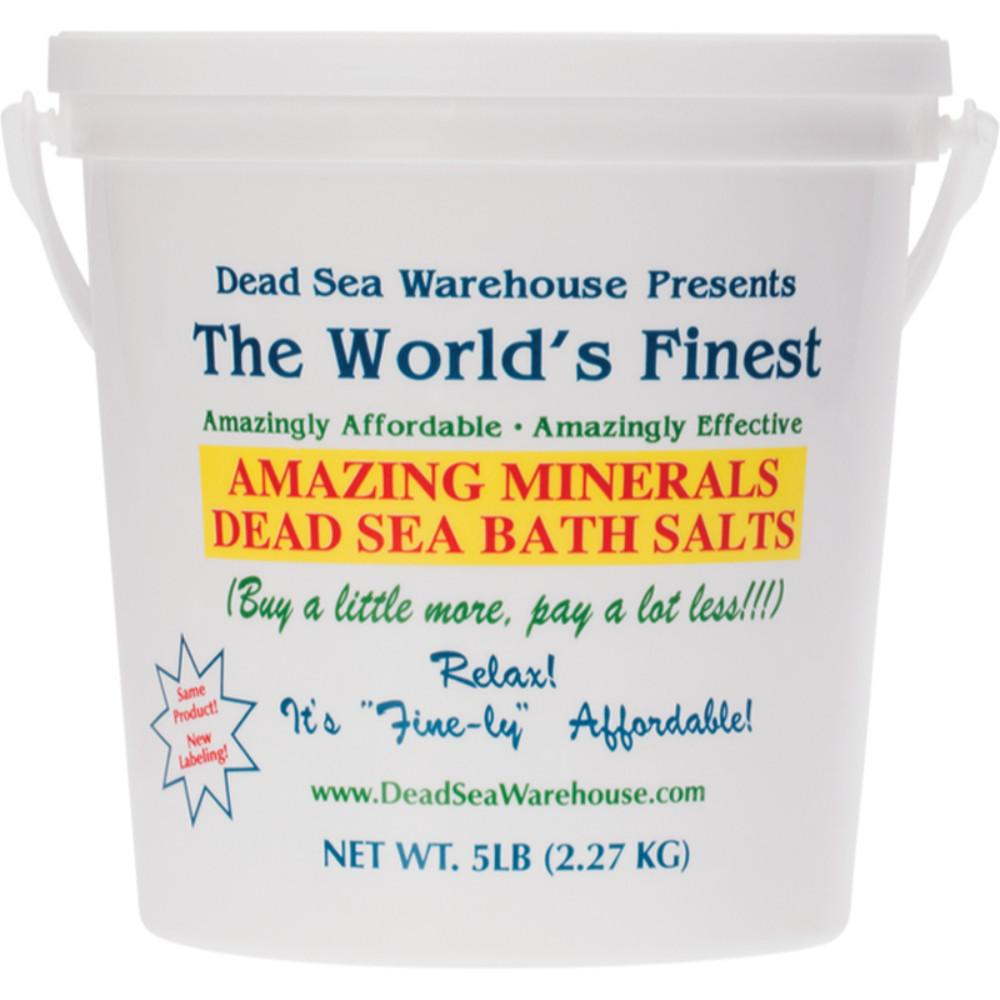 Dead Sea Warehouse Dead Sea Bath Salts 2.27kg Bucket